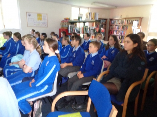 5th Class Visit Dundrum Library